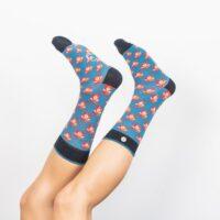 """Inseparable Socks """"MALONE & SOPHIA"""""""