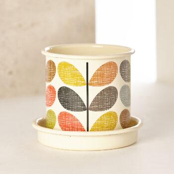 "Orla Kiely collection ""PLANT POT SMALL"