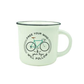 "Cup-Puccino Mug ""BIKE"""