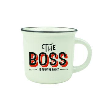 "Cup-Puccino Mug ""THE BOSS"""