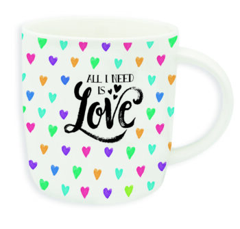"""Buongiorno Tas """"ALL I NEED IS LOVE"""""""