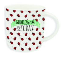 "Buongiorno Mug ""GOOD LUCK FOR TODAY"""