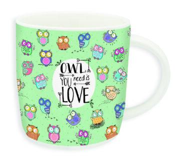 """Buongiorno Mug """"OWL YOU NEED …"""""""