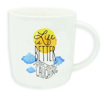 """Buongiorno Mug """"LIFE IS BETTER …"""""""