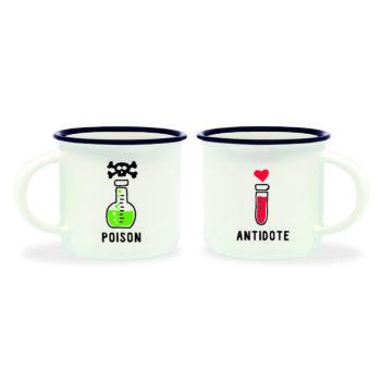 """Espresso Tas """"Poison & Antidote"""""""