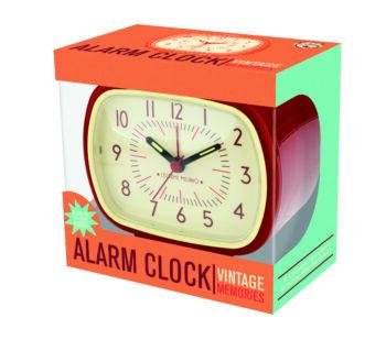 """Vintage Memories """"RETRO ALARM CLOCK"""""""