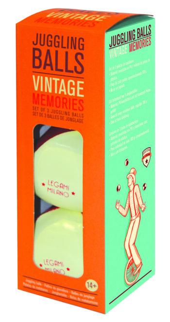 "Vintage Memories ""JUGGLING BALLS"""