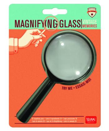 "Vintage Memories ""MAGNIFYNG GLASS"""