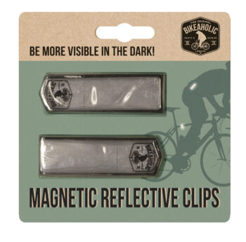 """Bikeaholic Collection """"MAGNETIC REFLECTIVE CLIPS"""""""